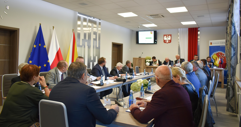 Ilustracja do informacji: XXIX Sesja Rady Powiatu Żarskiego