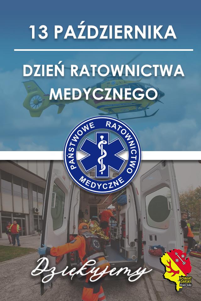 Ilustracja do informacji: Dzień Ratownictwa Medycznego