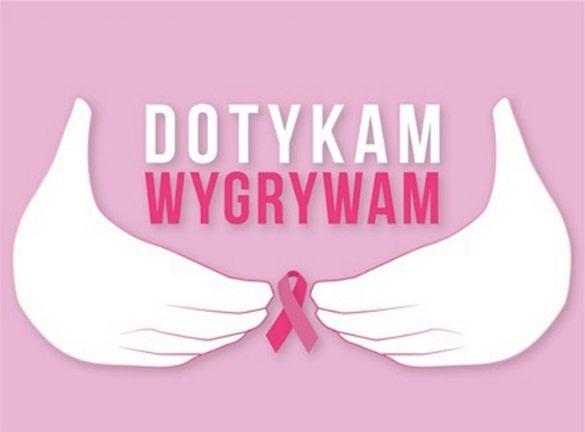 Ilustracja do informacji: 15 października Europejski Dzień Walki z Rakiem Piersi.