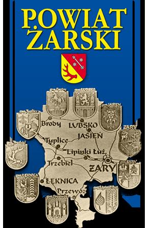 Logo: Powiat Żarski